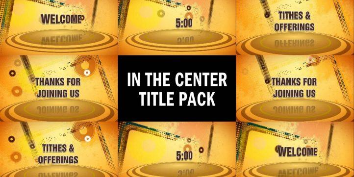 In The Center Title Pack Preview