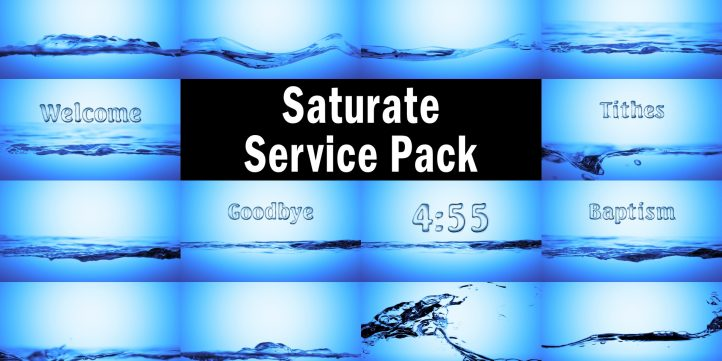 Saturate Service Pack